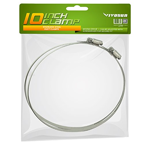 Ipower 10 Inch 25 Feet Air Ducting Dryer Vent Hose For